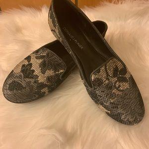 Donald J Pliner dienda jacquard smoking slipper